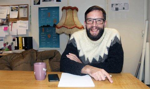 As: Thomas Eidsaune driver Organisk Rådgiving. Foto: Stine Skipnes