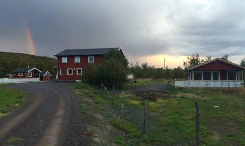 LITEN LEILIGHET: Sigurd Haugen bygde i utgangspunktet en liten leilighet for familie og besøkende. Men for fire år siden tok de den også i bruk for utleie gjennom Airbnb.