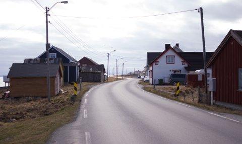 OVERSKYET: I øst, og ved kyststrøk er det overskyet. Finnmark er delt i to, sier vakthavende meteorolog. Bildet er tatt i Golnes.