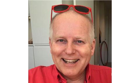 LÆRING: Kåre Hetland jr tykkjer det er kjekt å læra nye tekniske ting. No har han redigert sin første video, attpåtil med Bryne som motiv.