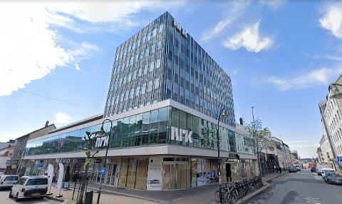 ANSETTER: NRK Sørlandet holder til i Markens gate i Kristiansand sentrum.