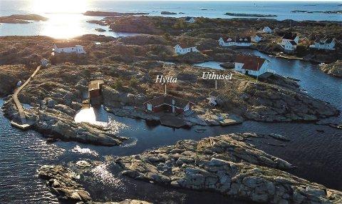 IDYLLISK: Fritidseiendommen på Vestre Rauane har vært i samme families eie i generasjoner.