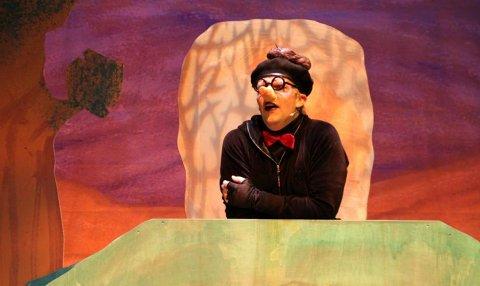 TEATER: Forestillingen om muldvarpen vises i Kongsberg musikkteater 11. september.