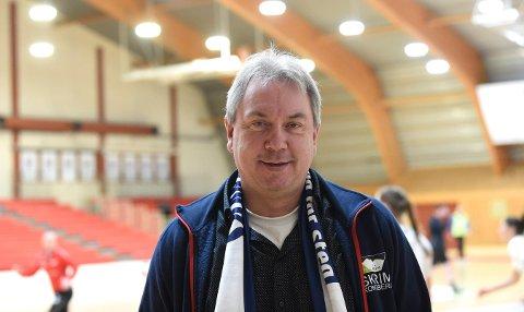 SLUTT: - IL Skrim håndball elite blir lagt ned, bekrefter Leif Stensrud, avtroppende styreleder. FOTO: OLE JOHN HOSTVEDT