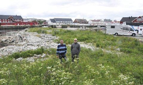 Sommeren 2017 leide innbyggerforeninga ut et areal til bobilturister. Det ble det penger av.