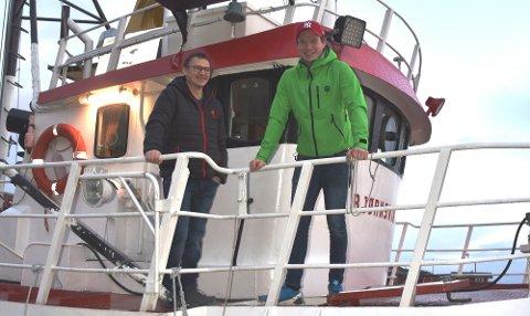 "INVESTERING: Jørn-Åge og Stephan Solhaug kjøpte i fjor ""Bjørnsvik"", og nå har de kjøpt ""Seingen"""
