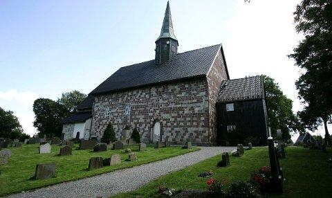 Åpner for minnestund: Rygge kirke åpner dørene for minnestund for Alexandra Therese Nilssen (21) lørdag kl. 12.00.