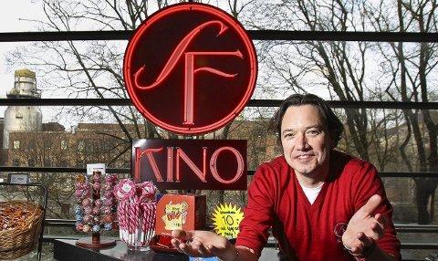 Gleder seg: Tony Fjærgård er tilbake til SF Kino Moss. Nå som marked- og eventansvarlig som skal få enda flere til å bruke kinoen i Moss.