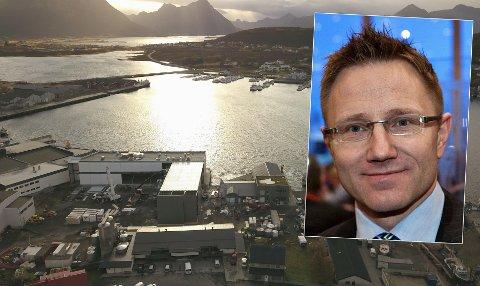SENTRAL I SATSING: Tromsøadvokat Rode S. Rønning-Hansen er arbeidende styreleder for Primex Holding Norway, et selskap som har kjøpt opp gamle Myre havbruk, og som nå bygger en helt ny fiskefabrikk til rundt 200 millioner kroner.