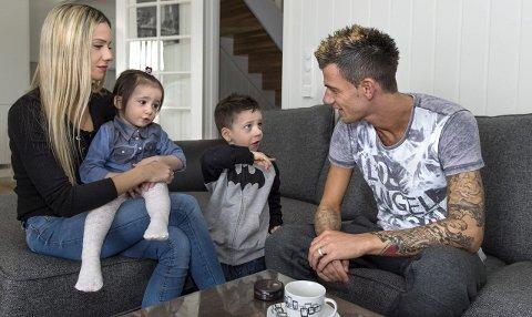 Rocky Lekaj med familie