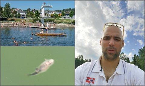 UBEHAGELIG: Miodrag Stanković vil ikke tilbake til Fastland etter at han blant annet fant ei død rotte i vannet der torsdag kveld.