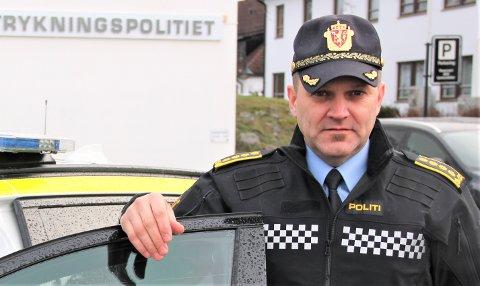 HÅPER: UP-sjef Kai Voldengen oppmoder til hensynsfull kjøring i sommer, og håper færre blir tatt i fartskontroll.