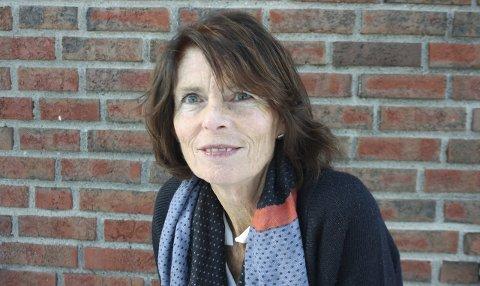 VALGANSVARLIG: Rektor Elisabeth Edding ved Roald Amundsen videregående skole.