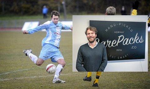 MÅL: Det begynner å bli noen år siden Jørgen Røssvold spilte for Follo Fotball, men det ble noen mål i den lyseblåe trøya før han la opp. Nå får vi håpe han klarer å få kundene på banen.