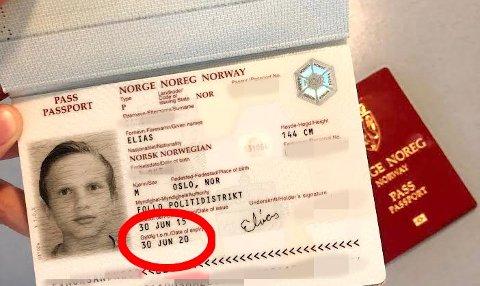 UTGÅTT: Svært mange sitter med utgått pass. I disse dager har politiet begynt å sende ut melding med påminnelse om å fornye det.