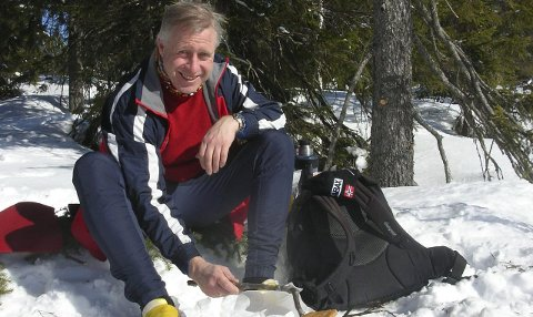 GREIT NOK: Ole Wiik er styreleder for Vindfjellsamarbeidet og melder om greie muligheter for en skitur hvis man vet hvor man skal starte. Arkivfoto: Privat