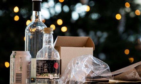 Jula er en høytid for søppel. Da er det viktig å være nøye med kildesorteringen. Foto: Katrine Lunke