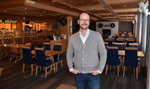 KLAR FOR HAMAR: Stian Kavli er i ferd med å åpne nok et spisested. Forstmann består som i dag.
