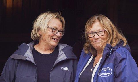 Ønsker alle velkommen: Kirsti Bakke og Bente Christiansen er klare for å arrangere høstmarked for 3. året på rad, denne gangen som en del av kulturuka.Foto: Richard Sundby
