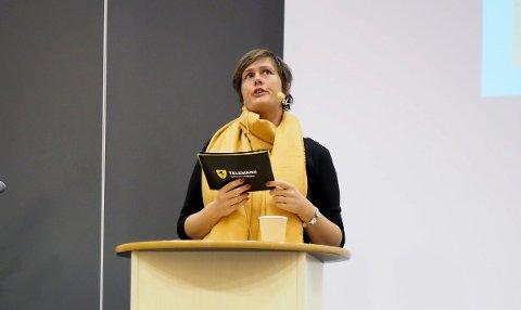 Maja Foss Five er glad for det alternative forslaget for Porsgrunn vgs.