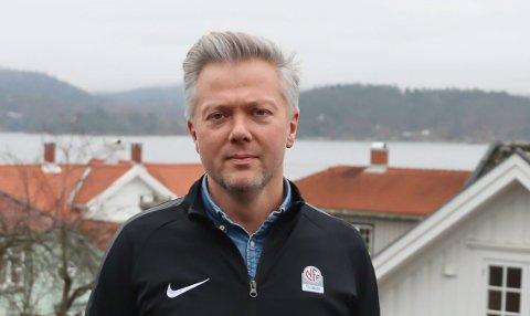 KLARE: Gaute Brovold og NFF Telemark.