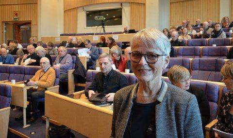 TAKKET FOR SEG: Anne Enger takket for seg som styreleder i Sykehuset Innlandet med følgende hilsen: Nå må dere ikke surre det til!