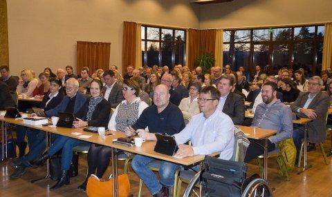Kommunestyrene i Hole, Ringerike og Jevnaker var samlet til møte om kommunereformen. Ingen konklusjoner ble trukket.