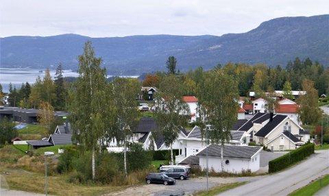 Klokkerlia - Hole sett fra et av de yngre boligområdene i vår kommune.