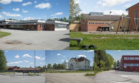 Truet: Sørum, Fet og Skedsmo har nå til sammen 29 skoler. I skolebehovsplanen, som nylig ble lagt fram, kommer det fram at disse fem skolene kan bli lagt ned. ALLE FOTO: REMI PRESTTUN