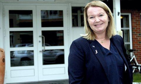 BYGGER BORGELIG BLOKK: Høyres listetopp Amine Mabel Andresen er i gang med å samle de borgerlige partiene i Lørenskog til en blokk som kan utfordre rødgrønn side ved neste valg.