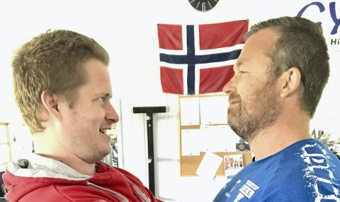 MARKLØFT: Blir det Per Marius Hole eller Bjørn Terje Pay som er sterkest?