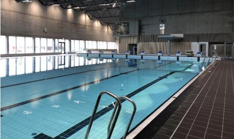 Austrått svømmehall ble åpnet i 2020.