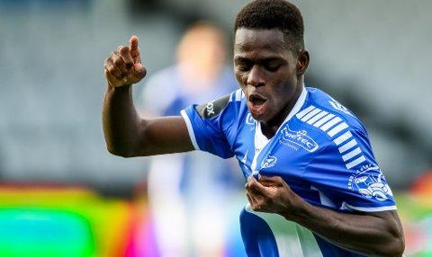 Ismaila Coulibaly fikk 28 kamper i Sarpsborg 08 og scorte fire mål.