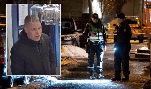 28 år gamle Kim André Håkonsen fra Skien er etterlyst og siktet for drapsforsøk utenfor Bunnpris-butikken i Ila i Trondheim i fjor.
