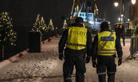 PASSER PÅ: Politiet ber folk være forsiktige når de er på julebord.
