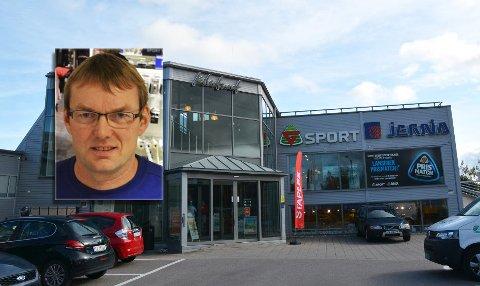 BEHOLDER JOBBEN: De ansatte på G-sport på Kilen beholder jobben når G-sport blir til Intersport, opplyser butikksjef Sturla Mysen.