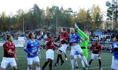 Fikk mest: Valdres FK har mottatt mest i grasrotandelen i Valdres. Her fra en kamp mot Flisa i fjor høst.