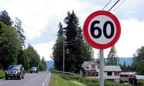 60-sone: I Rogne er farten ofte for høg og denne gang var det 11 som fikk forenkla forelegg.