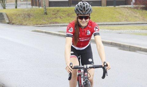 21 år gamle Katrine Aalerud er i den norske VM-troppen.