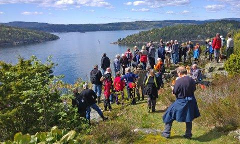 Mot Rist på Håøya, fra Sollia