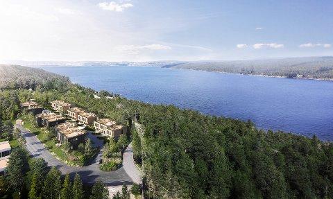 NYTT PROSJEKT: Snart legges dette boligprosjektet på Bomansvik ut for salg.