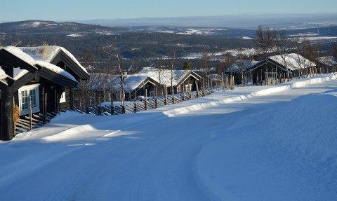 HUMMELFJELL: Hummelfjell i Os er ett av mange hytteområder i Fjellregionen.