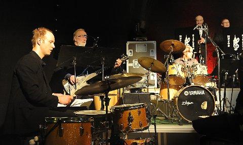 Trommebattle med Tollef Østvang og Christer Dirfeldt.