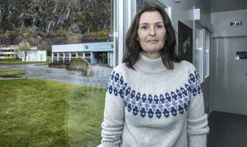Fremtidsplaner: Pleie- og omsorgtjenesten, ledet av Anne Berit Langholm Vullum, skal i løpet av våren legge fram en plan for den framtidige organiseringen av tjenesten. ARKIV
