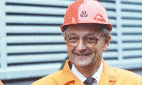 Torvild Aakvaag har gått bort. Foto: Norsk Hydro.