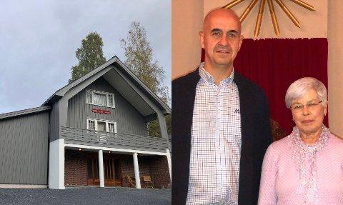 Tomas Hoel og Marit Valland, lederne for henholdsvis herrene og damene i Odd Fellow i Risør, Tvedestrand, Gjerstad og Vegårshei, forteller at de er fornøyde med det nye lokalet på Akland.