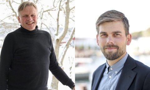 Næringssjef i Gjerstad, Ole Andreas Sandberg og næringssjef i Risør, Bård Vestøl Birkedal skal behandle søknadene i næringsfondsteamet i Det Regionale Næringsfond Østregionen i midten av mai.
