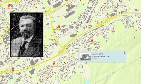 EN ULØST GÅTE: Mordet på Oscar Aasheim på veien til Holtet gård i Groruddalen opptok hele Norge i 1913.