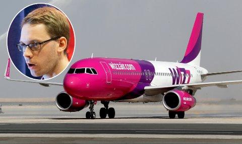 Aps Eigil Knutsen mener regjeringen bør sikre de Wizz Air-ansattes rettigheter.
