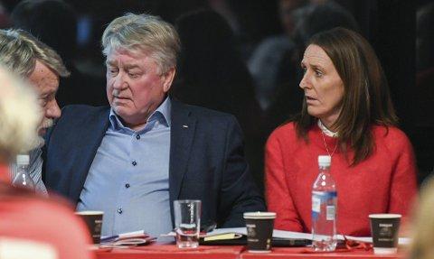 Styreleder Eivind Lunde og daglig leder Vibeke Johannesen.